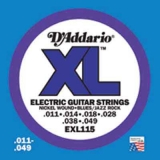 DAddario XL Nickel Round Wound -EXL115, .011-.049 Blues/Jazz Rock