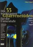 AMA610182 Die 33 wichtigsten Gitarrenetüden, Hubert Käppel