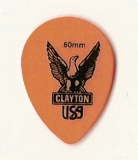 Pick Clayton Small Teardrop, orange