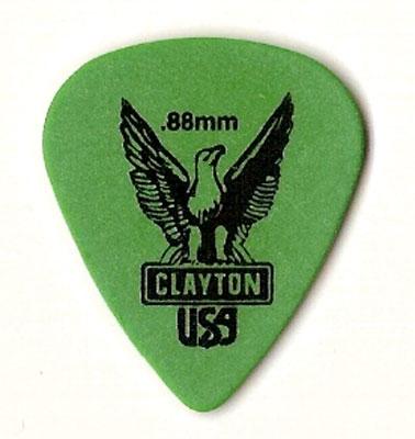 Pick Clayton Standard, grün