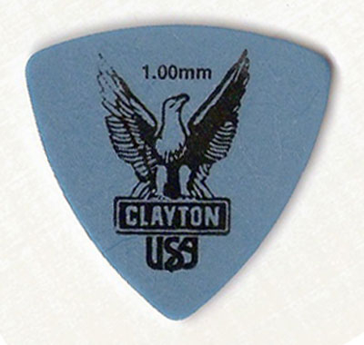 Pick Clayton Rounded Triangle, blau