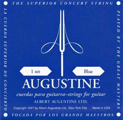 Augustine Concert Blau, hard