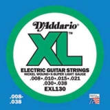 DAddario XL Nickel Round Wound -EXL130, .008-.038 x-super light