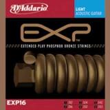 DAddario EXP Coated Phosphor Bronze Round Wound-EXP16, .012-.053 light