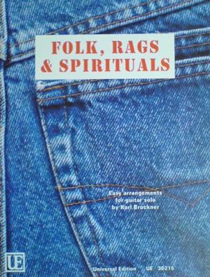 UE30215 Folk, Rags & Spirituals, Karl Bruckner
