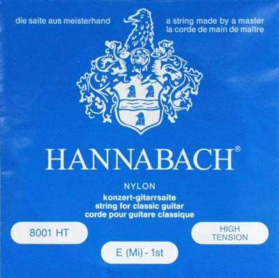 Hannabach versilbert-800HT, hard
