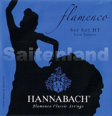 Hannabach Flamenco-827HT, präsisionsrund hard