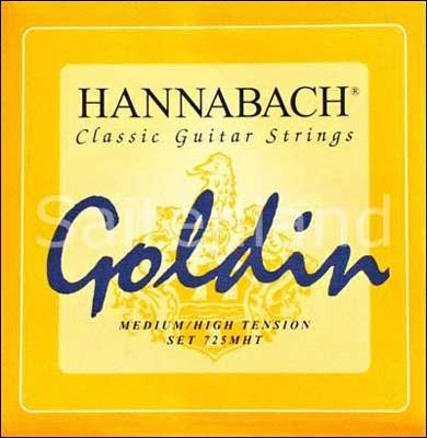 Hannabach Goldin-725MHT, Carbon normal-hard