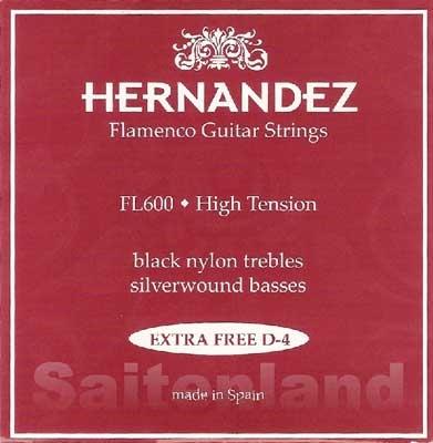 Hernandez Fl600 Black Nylon