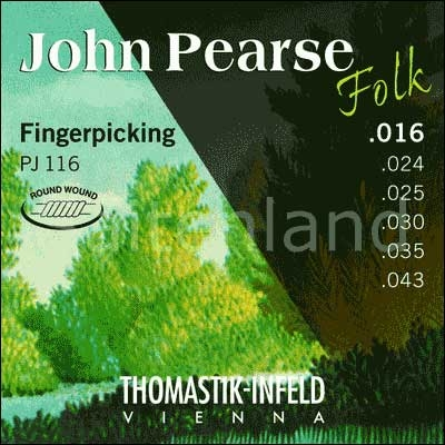 John Pearse Folk Fingerpicking PJ116, Ballend light
