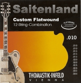 Thomastik Infeld Custom Flatwound 12-saitig