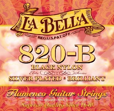 La Bella 820-B Black Nylon