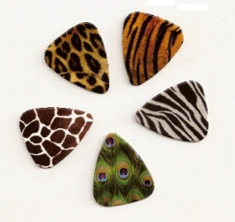 Picks 5 x Animal Print, medium