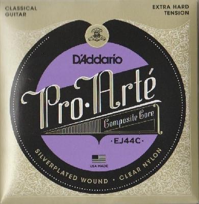DAddario-EJ44C Pro Arte Classical Guitar Composites, extra hard