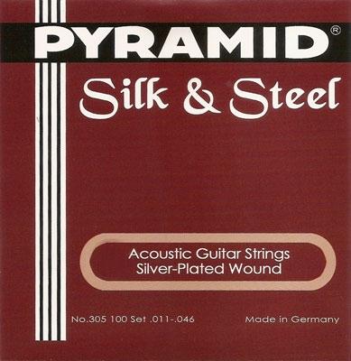 Pyramid Silk & Steel Akustik Gitarre 305100, .011-.046w medium
