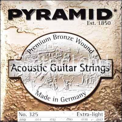 Pyramid Akustik Gitarre Premium Bronze 325100, .010-.047w extra light
