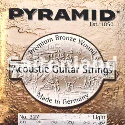 Pyramid Akustik Gitarre Premium Bronze 327100, .012-.052w light