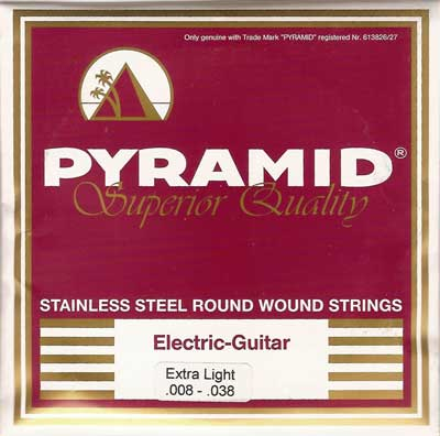 Pyramid Superior-Quality Stainless Steel 424100, .008-.038w extra light