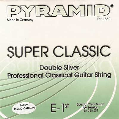 Pyramid Super Classic Double Silver Carbon C368200, light