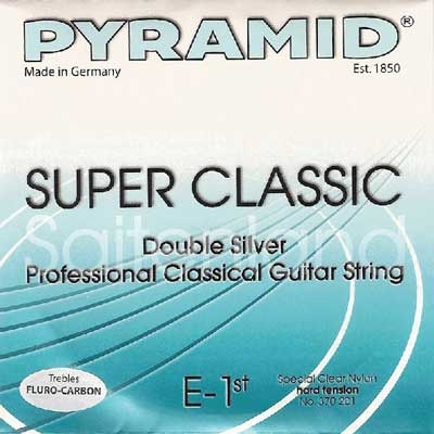 Pyramid Super Classic Double Silver Carbon C370200, hard
