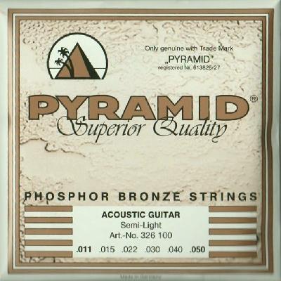 Pyramid Akustik Gitarre Premium Bronze 326100, .011-.050w semi light
