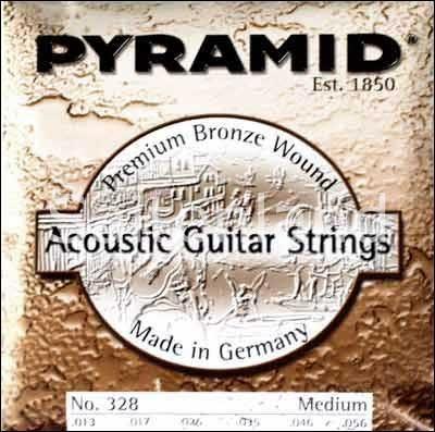Pyramid Akustik Gitarre Premium Bronze 328100, .013-.056w medium