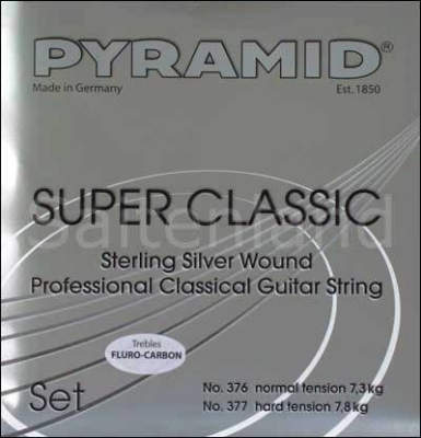 Pyramid Super Classic Sterling Silver Carbon C377200, hard