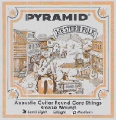 Pyramid Round Core Bronze R326100, .011-.050w semi light