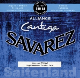 Savarez Cantiga 510AJ, Alliance Cantiga, hard Tension