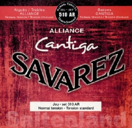 Savarez Cantiga 510AR, Alliance Cantiga, normal Tension