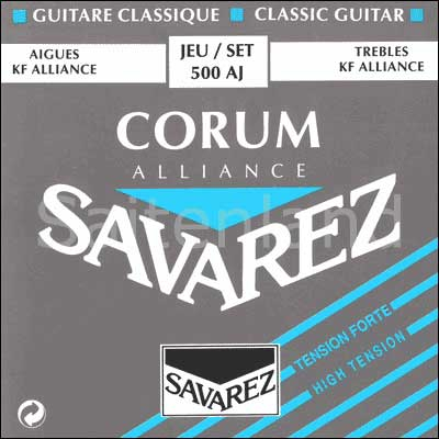 Savarez Corum Alliance 500AJ, Carbon hard