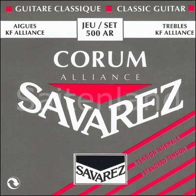 Savarez Corum Alliance 500AR, Carbon normal