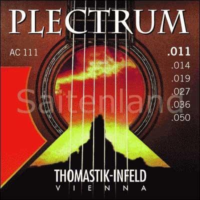 Thomastik Infeld Plectrum AC111, .011-.050w überschliffen, light