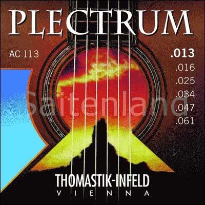 Thomastik Infeld Plectrum AC113, .013-.061w überschliffen, medium
