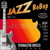 Thomastik Jazz BeBop Nickel Round Wound BB112, .012-.050 light