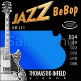 Thomastik Jazz BeBop Nickel Round Wound BB114, .014-.055 medium