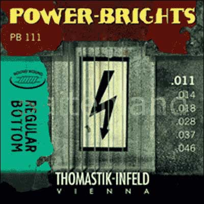 Thomastik Power Brights Regular Bottom PB111, .011-.046 medium