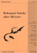 K&N1128 Bekannte Stücke alter Meister, Nogatz Verlag