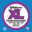 DAddario XL Nickel Round Wound -EXL120, .009-.042 super light