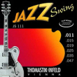 Thomastik Jazz Swing Nickel Flat Wound JS111, .011-.047 light