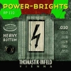 Thomastik Power Brights Heavy Bottom RP110, .010-.050 medium light