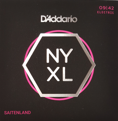 DAddario NYXL0942 Nickel Round Wound .009-.042 super light