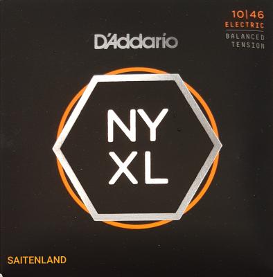 DAddario NYXL1046 Nickel Round Wound .009-.040 regular light