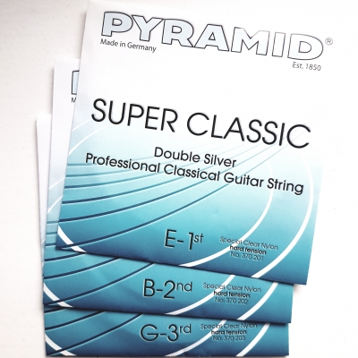 Pyramid Super Classic Nylon-Diskant, 370201-3 / 377201-3 hard
