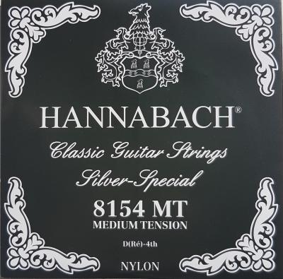 Hannabach Silver Special-8154MT, präzisionsrund medium D-Saite