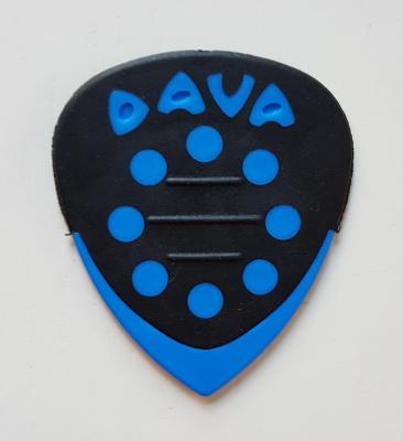 DAVA Grip Tip Delrin, griffig, blau, soft-hard