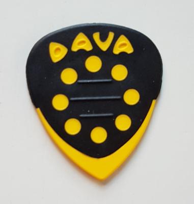 DAVA Grip Tip Delrin, griffig, gelb, soft-hard