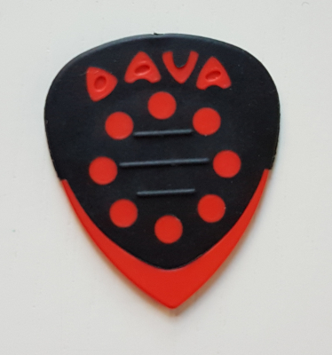 DAVA Grip Tip Delrin, griffig, rot, soft-hard