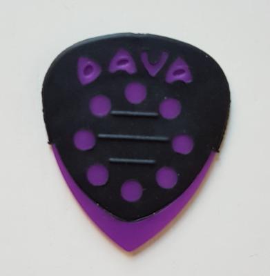 DAVA Grip Tip Delrin, griffig, violett, soft-hard