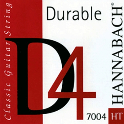 Hannabach Durable D4 Medium Tension Einzelsaite 7004mt